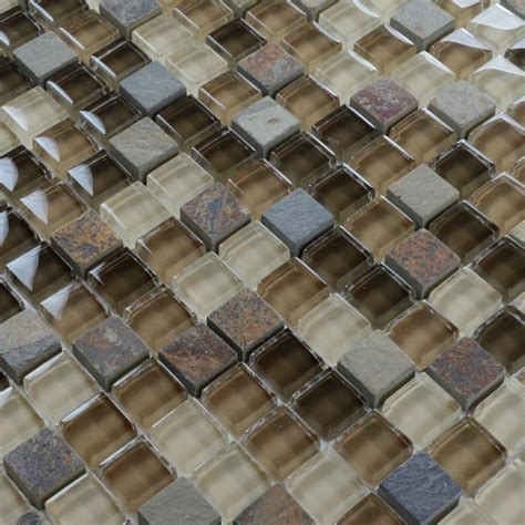 mosaic wall tile glass mosaic tilessmoky mountain square tiles with