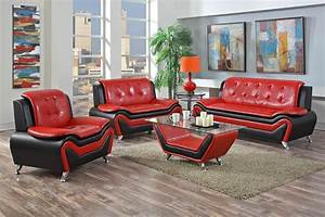 red and black furniture for living room peenmediacom With red and black furniture for living room
