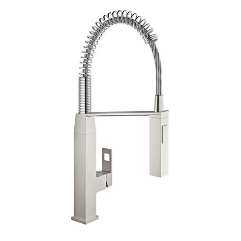 grohe eurocube single handle pull down sprayer kitchen