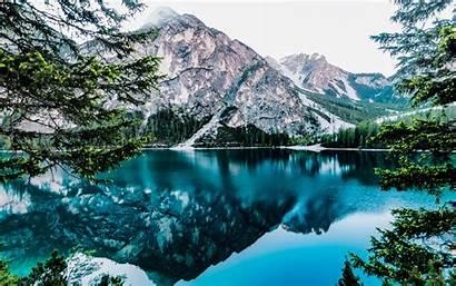 Canada 4k Banff Lake Moraine Desktop Montagne