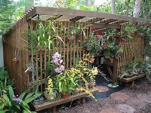 Sun Garden De Shop : a lath house will shade orchids from summer sun garden ~ Eleganceandgraceweddings.com Haus und Dekorationen