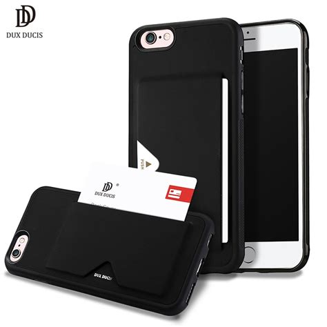 1) iphone 6s wallet case, iphone 6 leather case, lameeku protective wallet cover leather wallet case with credit card slot holder, case cover for apple iphone 6 / 6s 4.7inch. DUX DUCIS Leather Card Case for iPhone 6 Wallet Credit Card Slot ID Holder Back Cover for iPhone ...