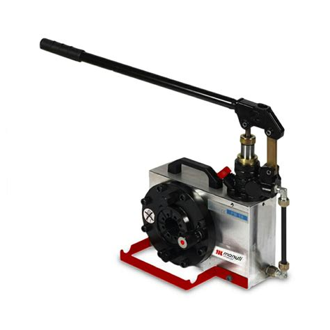 manuli hydraulics portable hand crimper swage machine  hoses  fittings ebay