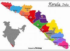 Vector Kerala India Map Download Free Vector Art, Stock