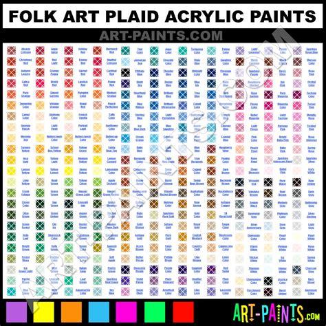 plaid acrylic paint colors folk plaid acrylic paint colors folk plaid paint