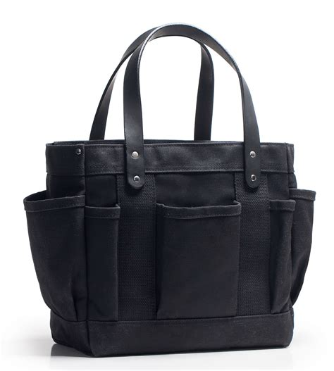 riggers tote waxed canvas