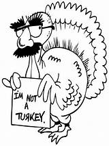 Coloring Pages Funny Turkey Thanksgiving Fun Drawings Cool Really Im Printable Drawing Popular Cartoon Animal Coloringhome Paintingvalley Colors Printablecolouringpages sketch template
