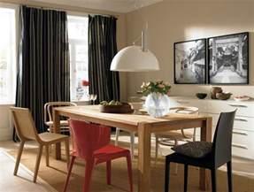 wohnzimmer mit esszimmer inspiration esszimmer im eleganten farbton schöner wohnen trendfarbe quot sand quot bild 4