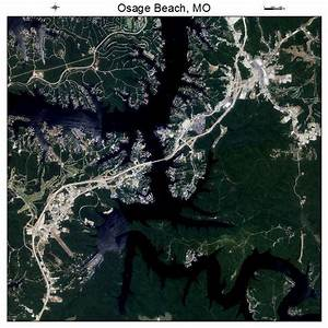 Aerial Photography Map of Osage Beach, MO Missouri