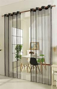 Rideau Séparateur De Pièce : fadengardine fadenstore vorhang mit sen raumteiler 20304 ebay ~ Teatrodelosmanantiales.com Idées de Décoration
