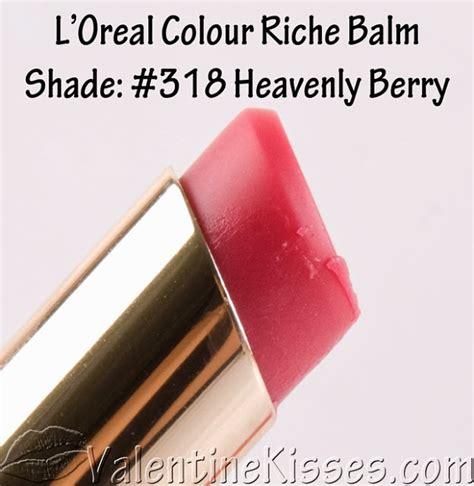 Loreal Xo kisses l oreal colour riche balm in shades