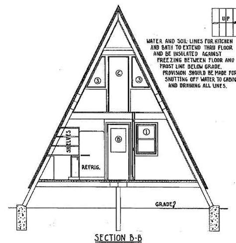 a frame house plans free a frame house plan with deck