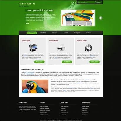 Website Templates Template Site Particle Fotolip Templatemo
