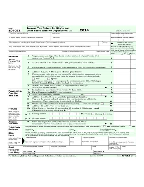 irs form 1040 ez 2014 the reason why everyone love irs