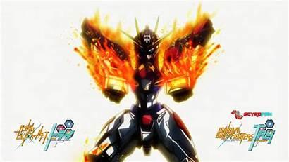 Gundam Barbatos Build Burning Laptop Iphone Desktop