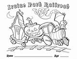 Coloring Train Pages Railroad Crossing Thomas Park Pdf Halloween Christmas Irvine Easter Printable Children Grade Moon 4th Getcolorings Getdrawings Freight sketch template