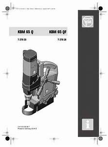 Fein Kbm 65 Qf Tools Download Manual For Free Now