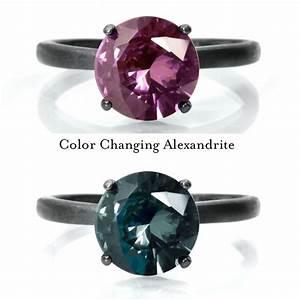 6mm Alexandrite Ring, Color Change Alexandrite Engagement ...