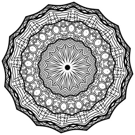 mandala  art black  white  image  pixabay