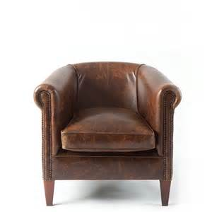 chair uk preciousinstants brown leather tub chair images