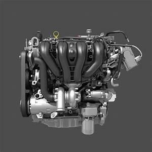 Car 4 Cylinder Engine Cutaway 3d Model  Max  Obj
