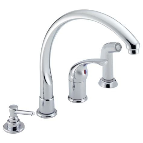 delta pilar kitchen faucet delta single handle kitchen faucet akomunn com