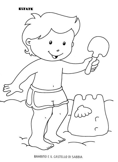 disegni estate da colorare e stare maestra la maestra estate da colorare disegni da