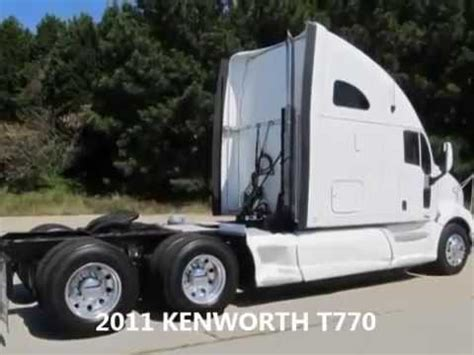 2011 kenworth trucks for sale truck for sale 2011 kenworth t700 youtube