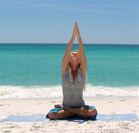 Yoga Images Beach Yoga Hd Wallpaper And Background Photos