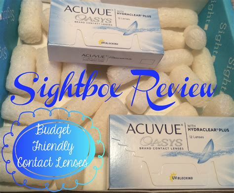 Sightbox Review Budget Friendly Contact Lenses