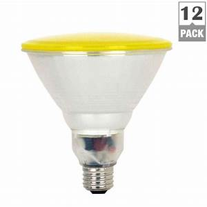 Feit electric lightbulbs w equivalent yellow par cfl