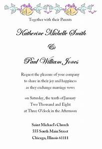 stunning wedding invitation letter theruntimecom With wedding invitations letters sample