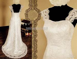 custom strapless lace straps a line lace up sexy backless With adding sleeves to a wedding dress before and after