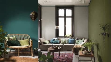 kleuren interieur groen olijf groen in huis maison belle