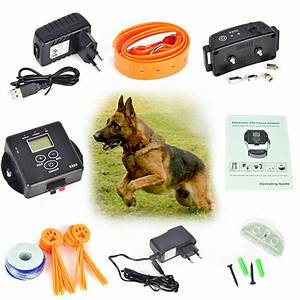 aliexpresscom buy 5000 square meters wireless invisible With electronic dog fences for large dogs