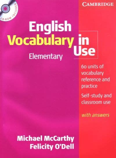 Free Download Cambridge English Vocabulary In Use Elementary Pdf Book