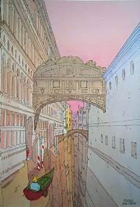 Venice By Moebius  Jean Giraud