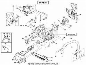 Poulan Pp220 Gas Chain Saw Type 5  220 Gas Chain Saw Type