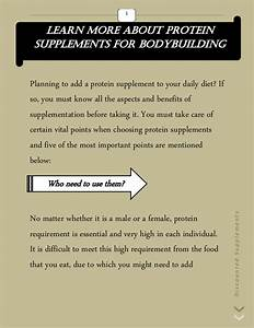 Learn More About Protein Supplements For Bodybuilding