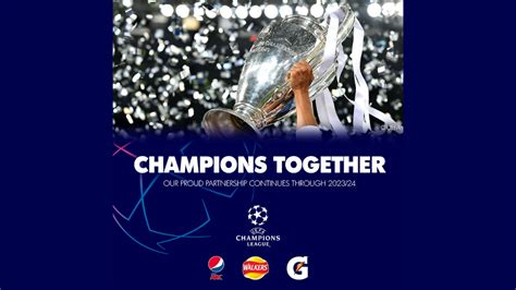 We have renewed our UEFA Champions League Partnership
