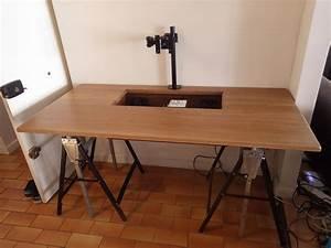 Construire Un Bureau : pourquoi utiliser du contreplaqu quand on peut faire un bureau en ch ne massif modifications ~ Melissatoandfro.com Idées de Décoration