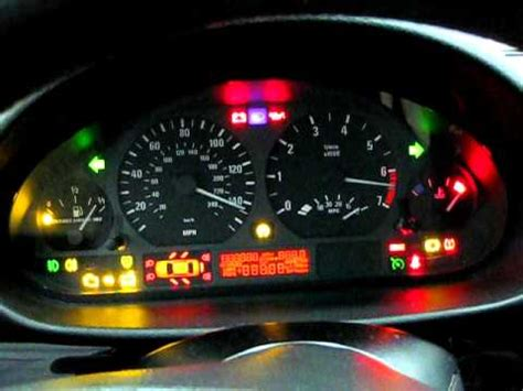 bmw instrument cluster reset youtube