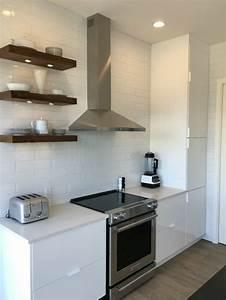 meuble cuisine ikea et idees de cuisines ikea grandes With meuble sur hotte ikea
