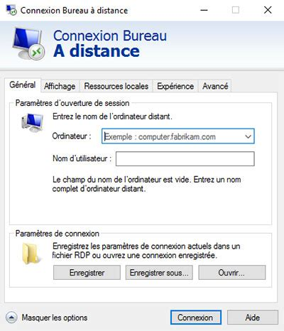 connexion bureau distance xp bureau a distance windows connexion bureau distance