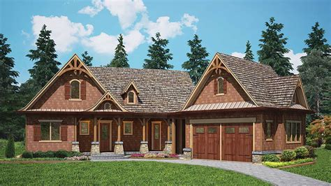 rustic cottage home plan ge architectural designs house plans