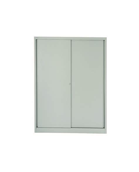 Sliding Cupboard Shelves by Bisley 4 Shelves Sliding Door Cupboard Ofpdirect