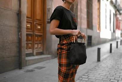 Skirt Outfit Madrid Checked Dolce Vita Grunge