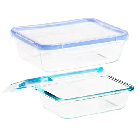 solution cuisine snapware total solution pyrex glass food storage 4 pc