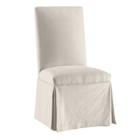 Linen Slipcovered Parsons Chairs by 1000 Images About Slipcovers On Cotton Linen