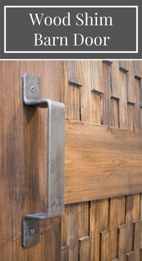 easy diy barn door  optional textured panels barn